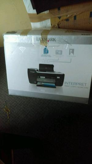 LEXMARK ALL IN ONE PRINTER