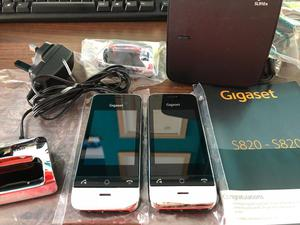 Siemens Gigaset SL910A Premium Touchscreen Cordless Phones