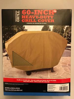 """Backyard Grill 60"""" Heavy Duty Grill Cover - Weatherproof PVC"""