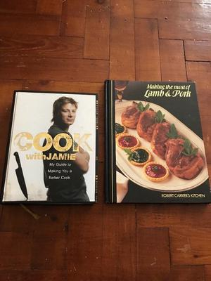Jamie Oliver cookery book and other cookery book