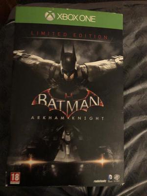 Limited Edition Batman: Arkham Knight set