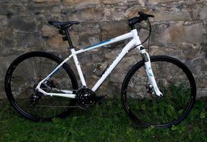 SPECIALIZED AERIAL WITH DISC BRAKES/FRONT SUSPENSION, V.G.C. SIZE L, RRP £600