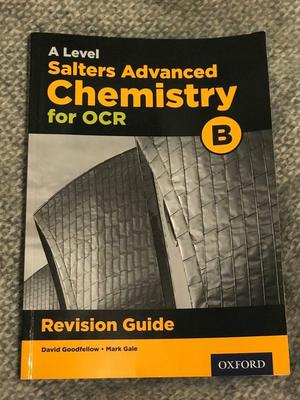 A Level Chemistry Revision Guide Bundle. OCR B Salters. Practical Chemistry.