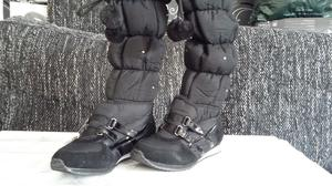 BRAND NEW WOMEN WINTER BOOTS SIZE 3 BLACK