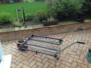 PENROSE XXL BARROW/PLATFORM AND ROD/POLE SUPPORT