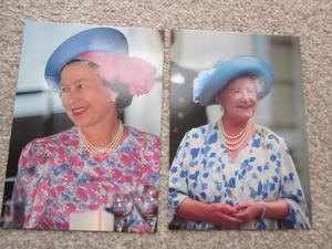 Royal Postcards The Queen and The Queen Mother
