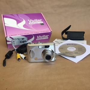 "Vivitar ViviCam mp camera with 2.4"" LCD screen -"