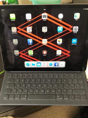 iPad Pro 2nd Gen 64gb 12 inch silver