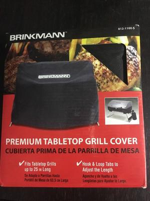Brinkmann -S Table Top Gas Grill Cover 25