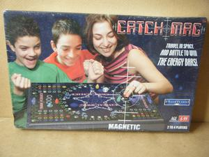 (CATCH MAG) Travel in Space magnetic board game. Brand new and sealed.