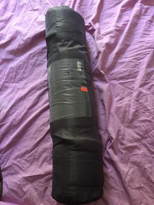 Camping air mat self inflating