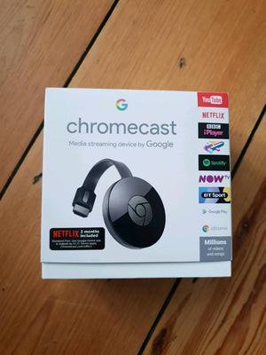 Google Chromecast 2nd Gen - Unopened