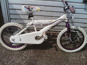 HUFFY GIRLES BIKE 16 inch wheels and tyres £40 ovno