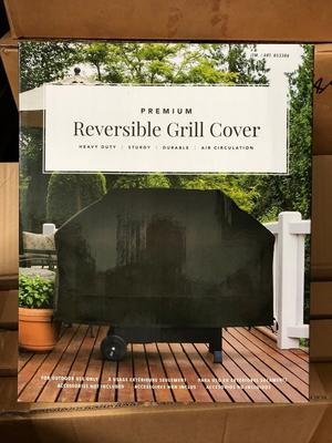 Heavy Duty X-Large Reversible Premium BBQ/Barbecue Grill
