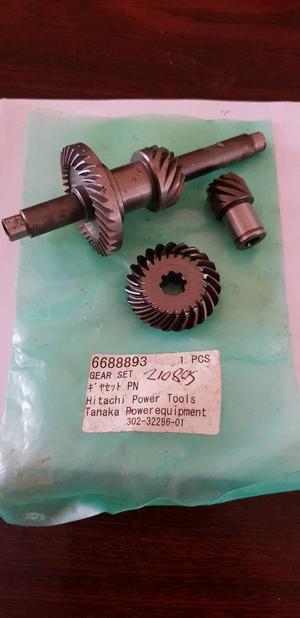 Hitachi or tanaka long reach headge cutter gear box cost over 80 new
