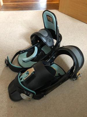 Snow board binding boots