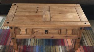 Solid wood coffee and side table set DELIVERY AVAILABLE