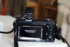 Sony Alpha AMP Digital Camera