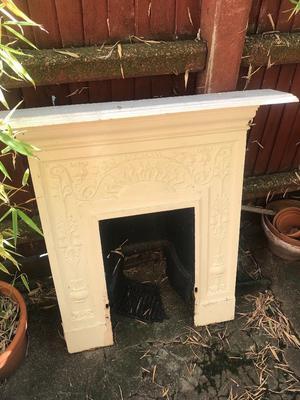 Fireplace - Victorian original