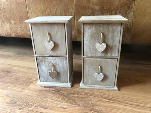 Shabby Chic Wooden Storage/Jewellery Boxes