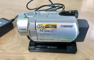 Sony DCR-SR200 HandyCam and accessories