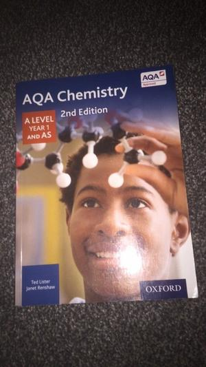 A level Chemistry book Year 1 - £25 O.N.O