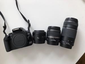 Canon 400D, like new with lost of extras.