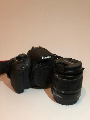 Canon EOS 700D DSLR Camera Body with mm Lens