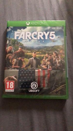 Far Cry 5 - Xbox One - Brand New - Will Take Swap For 1-2 Switch Game