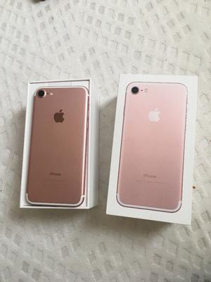 iPhone 7 rose gold 256 gb unlocked boxed like new with accessories great condition selling as upgrad