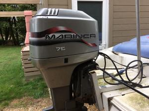 75 hp Marina Outboard Motor for sale