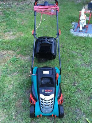 BOSCH electric lawnmower - 1 year old - full working order