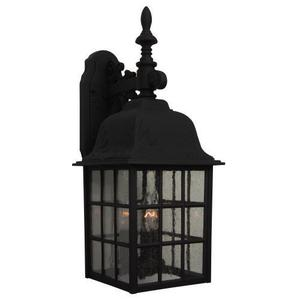 """Craftmade Z Grid Cage 21"""" 3-Light Outdoor Wall Sconce"""