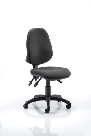 Dynamic Eclipse III Lever Task Operator Chair without Arms - Black