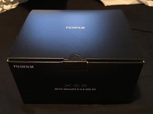 Fujifilm X-E3 Digital Camera with mm XC Lens - Black (Fuji)