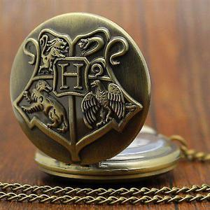 HARRY POTTER Hogwarts Pocket Watch