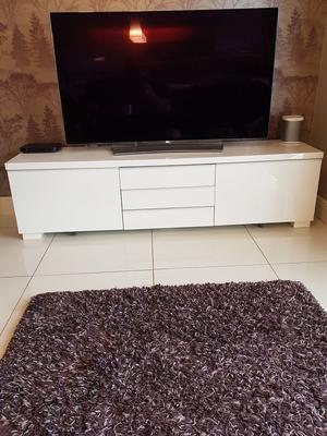 Ikea Besta Burs White Gloss TV Stand - £60