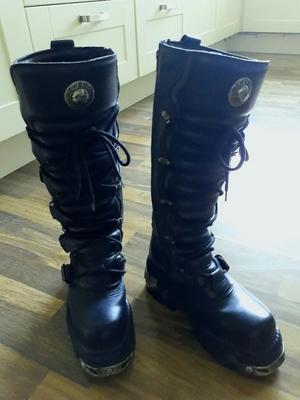 New Rock knee high boots (272's) uk 41