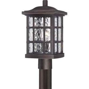 "Quoizel SNNPN Stonington 1 Light 17""T Post Lantern with"