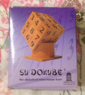 SudoKube Puzzle Cube Game. Maths Educational Mind Teaser. Complete And VGC.