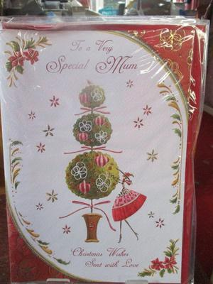 To a Very Special Mum Christmas Wishes Sent with Love Card