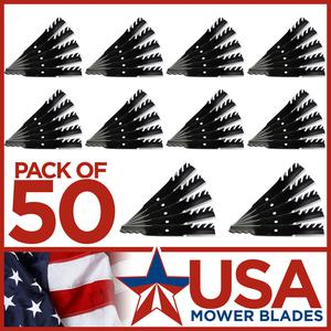 (50) USA Mower Blades® Fits Scag®