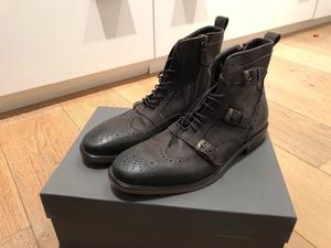 Brand New John Varvatos Boots size 8.5 Uk