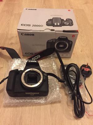 Canon D SLR digital camera brand new