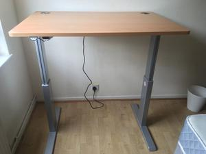Ergonomic Aluforce Sit Stand Electric Desk