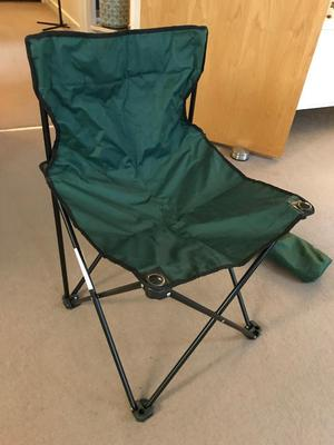 Folding Camping / Fishing Chair Excellent Condition