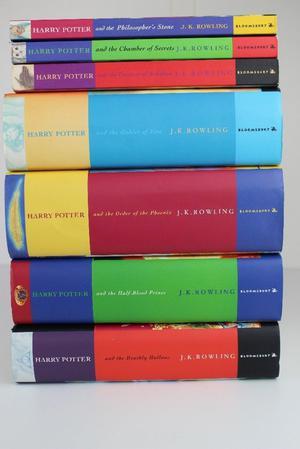 Harry Potter Complete Set Bundle 7 books