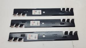 "Qty 3 Rotary  Lawn Mower Blade "", Replaces"