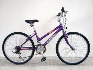 "("" RALEIGH KRUSH GIRLS MOUNTAIN FULL RIGID HYBRID BIKE BICYCLE Age: 8-10, Height:  cm"