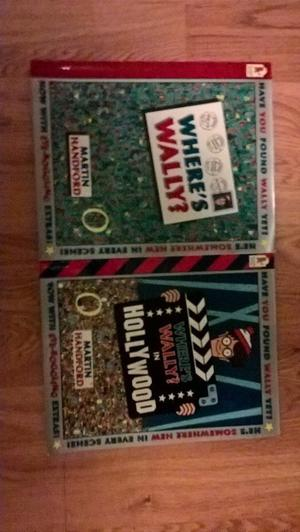 Where's Wally? And Where's Wally? In Hollywood Books Available As A Pair For Hours Of Fun